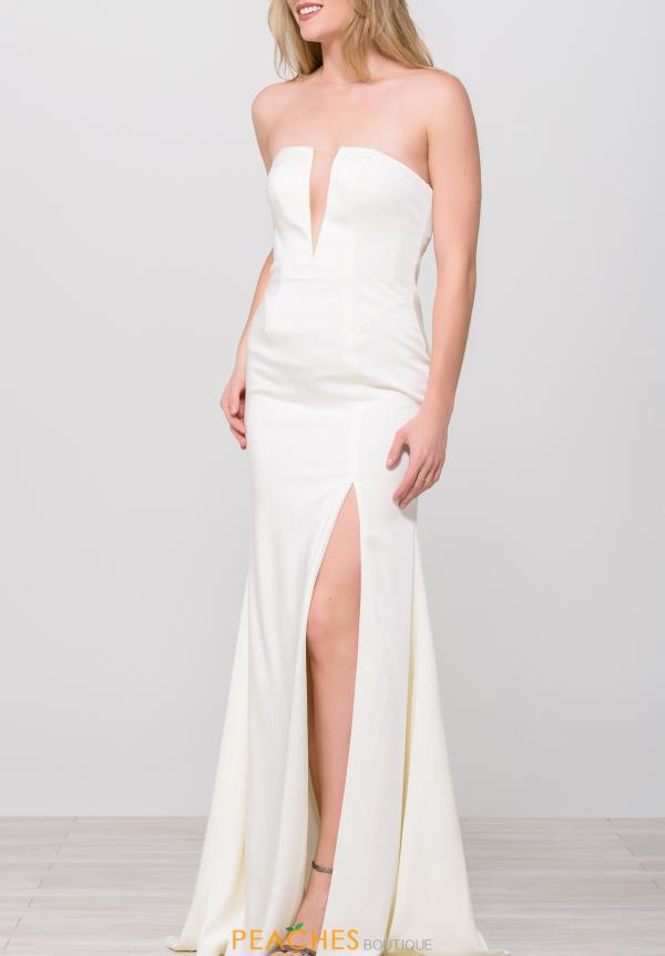 JVN by Jovani Strapless Long Dress JVN49580