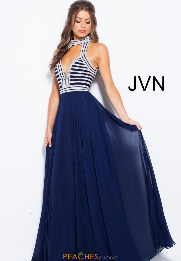 JVN by Jovani Long Beaded Dress JVN53380