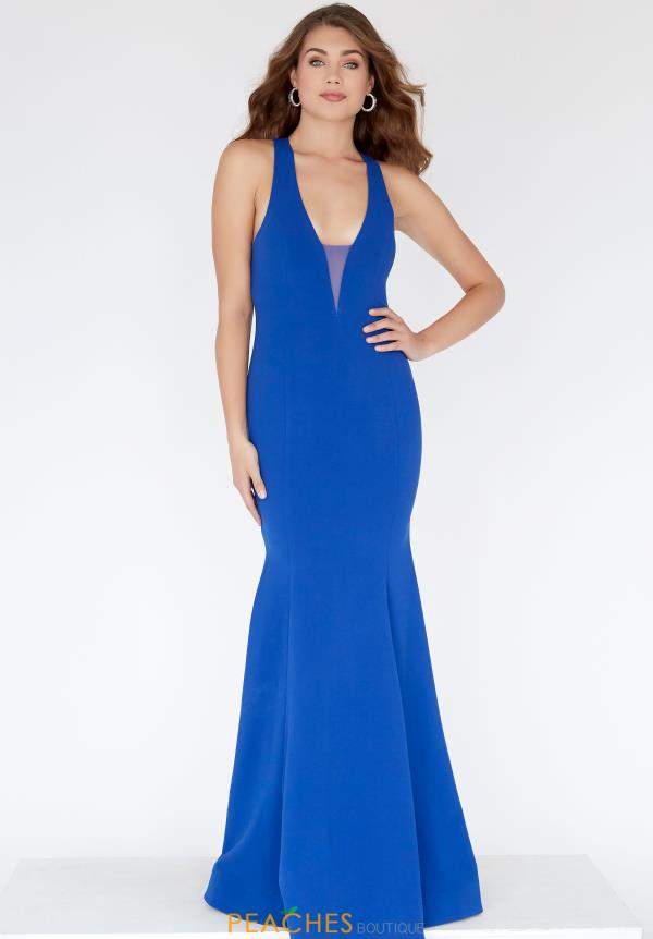 Jolene Fitted Open Back Dress E80035