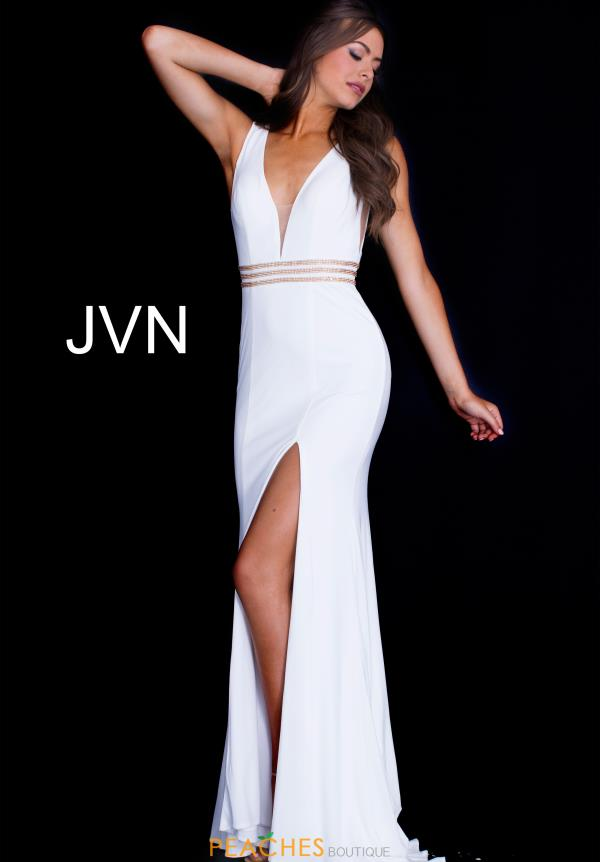 JVN by Jovani Long Jersey Dress JVN59890