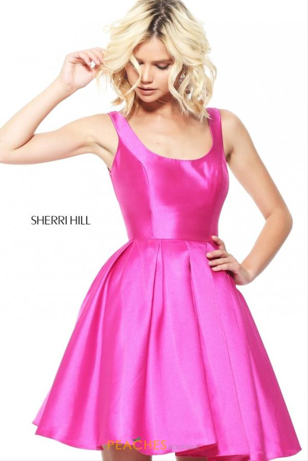 Sherri Hill Short A Line Dress S50887