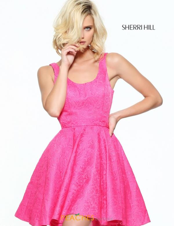 Sherri Hill Short A Line Dress S51071