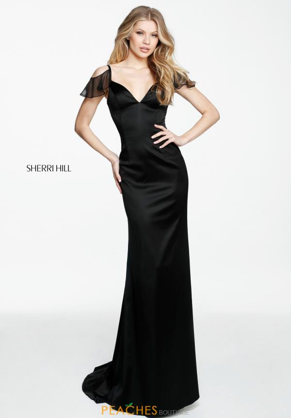 Sherri Hill Fitted Long Dress 51025