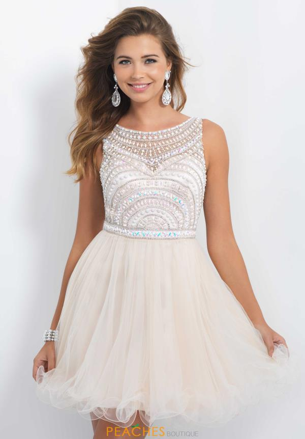 Short Tulle Dress By Blush Style X264