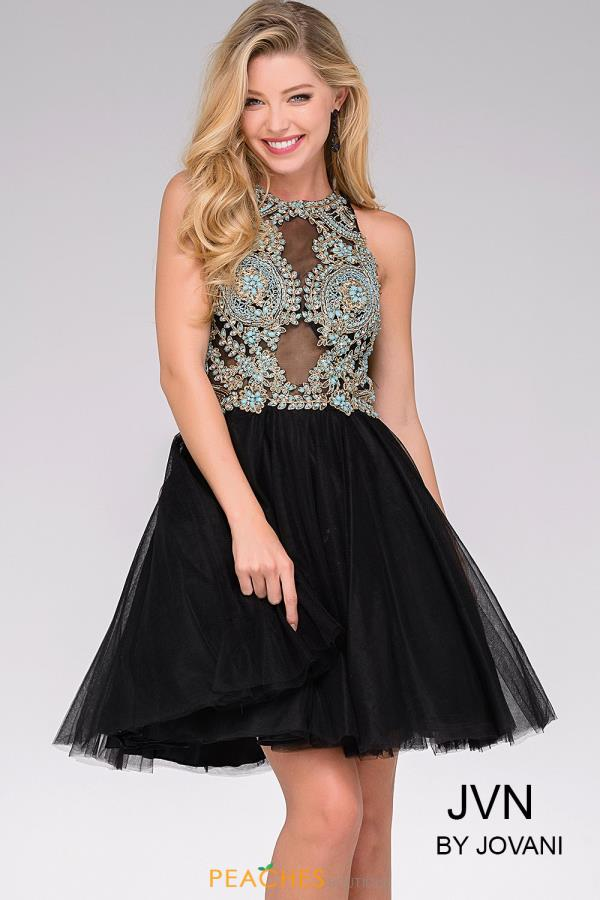 JVN by Jovani Short Beaded Dress JVN47971