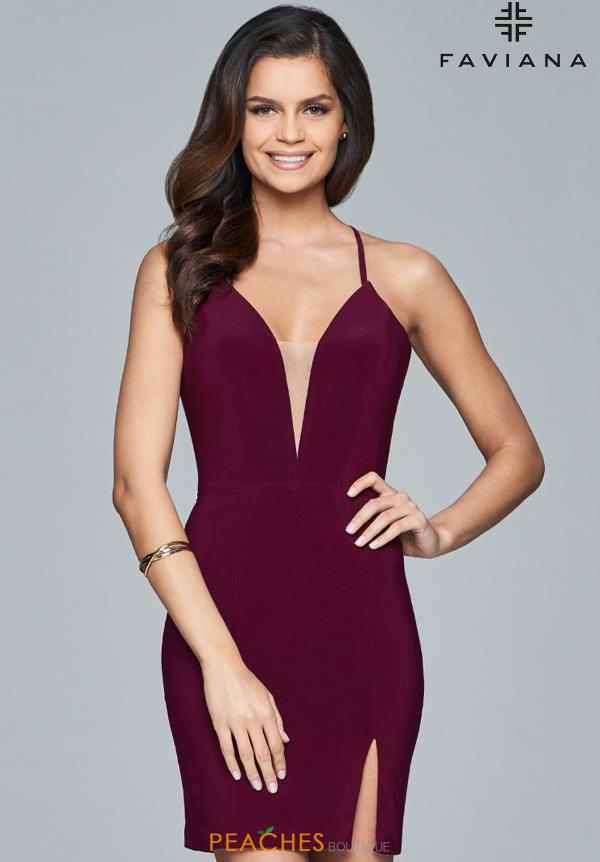 Faviana Sexy Fitted Dress 8054