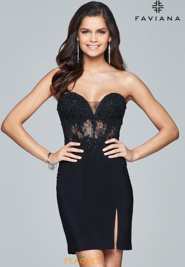 Faviana Sexy Fitted Dress S8074