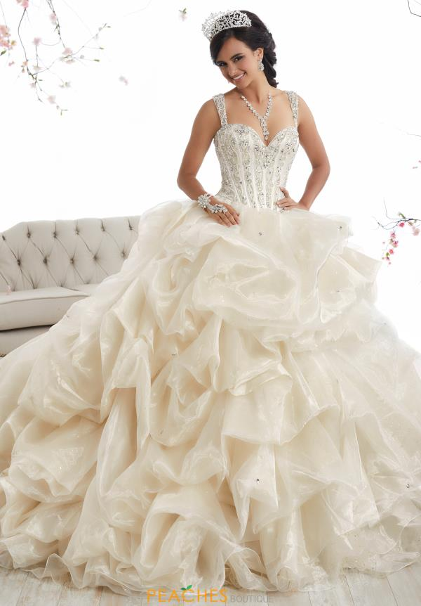 Tiffany Quinceanera Beaded Ball Gown 26868