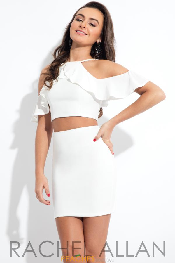 Rachel Allan Cap Sleeve Fitted Dress L1089