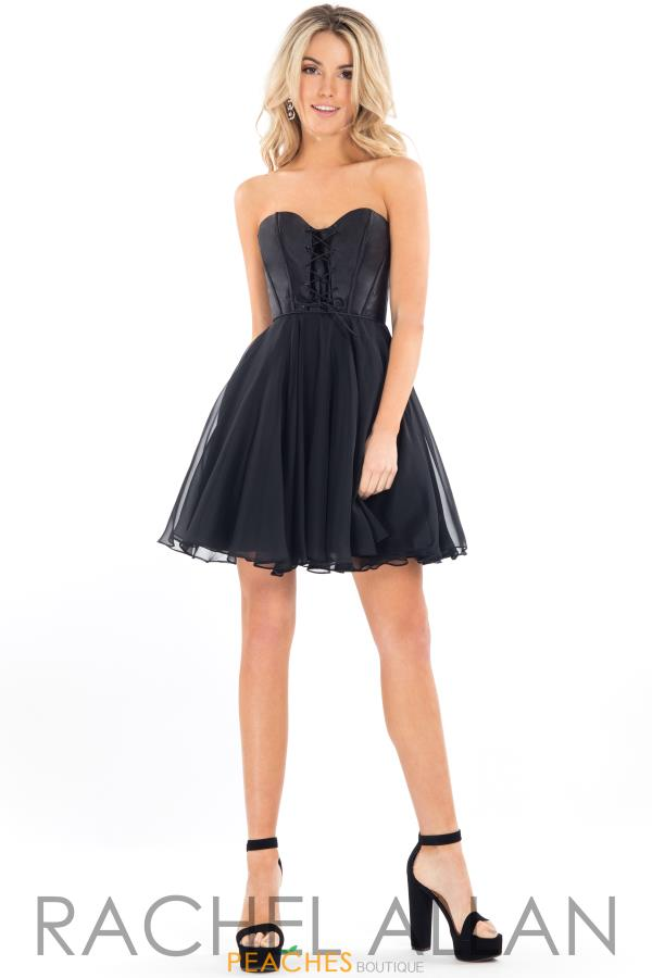 Rachel Allan A Line Sweetheart Dress L1102