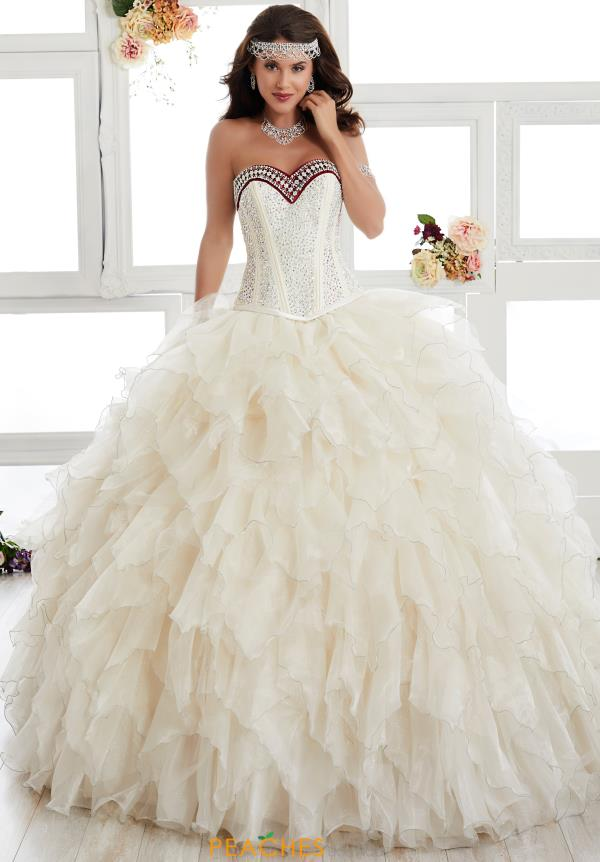 Tiffany Quinceanera Strapless Ball Gown 24010