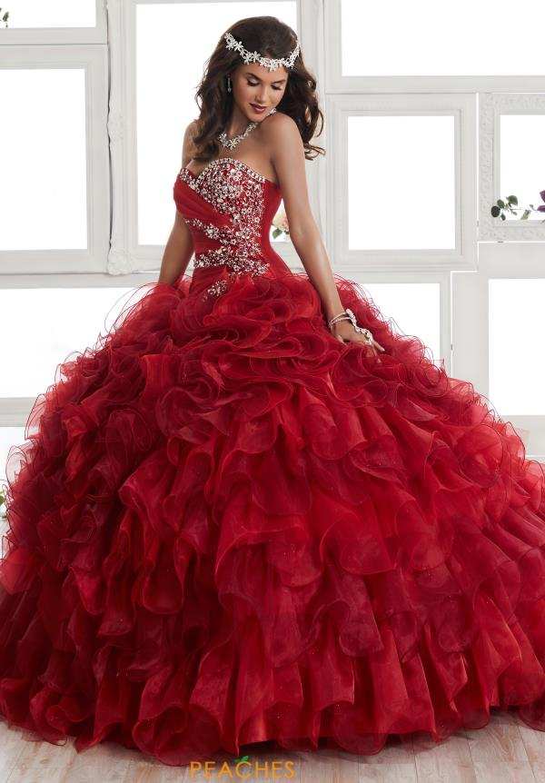 Tiffany Quinceanera Organza Skirt Ball Gown 24011