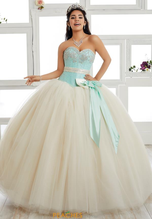 Tiffany Quinceanera Strapless Ball Gown 24016