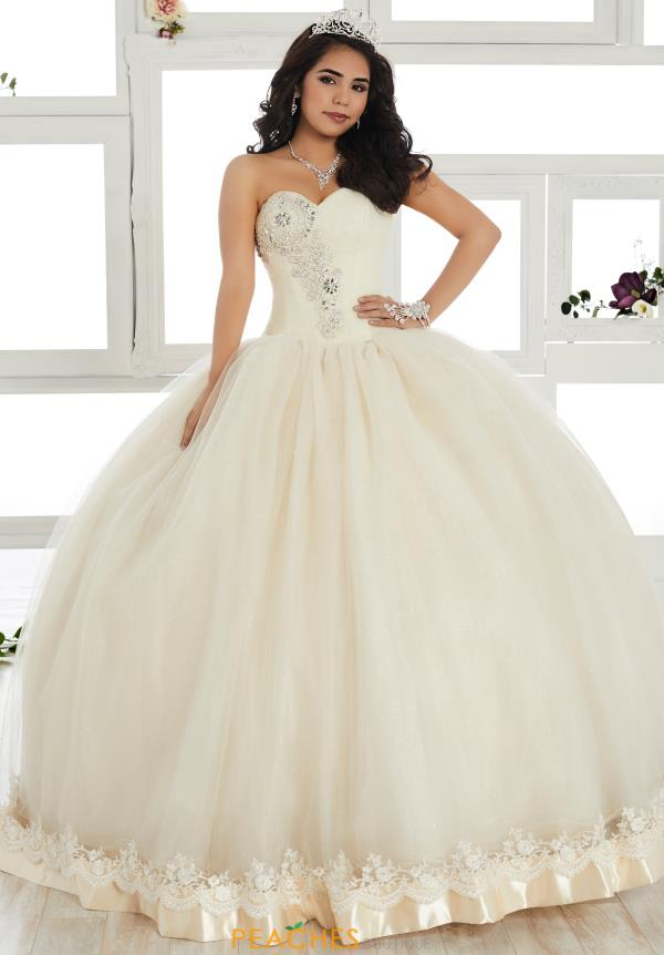 Tiffany Quince Strapless Tulle Dress 24017