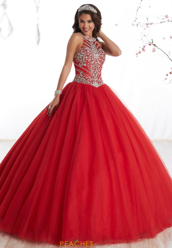 Tiffany Quince Tulle Skirt Ball Gown 56326