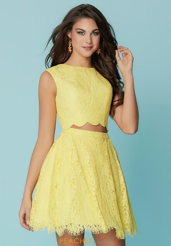 Hannah S Two Piece A Line Dress 27147