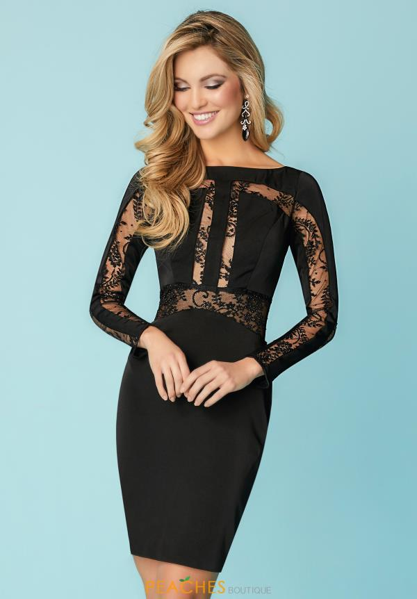 Hannah S Sleeved Fitted Dress 27156