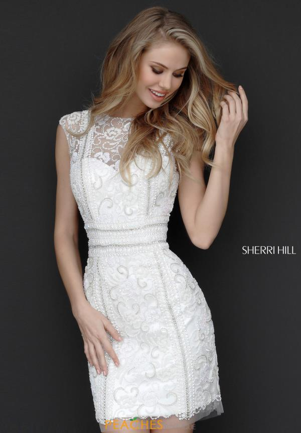 Sherri Hill Short Sparkling Fitted Dress 51287