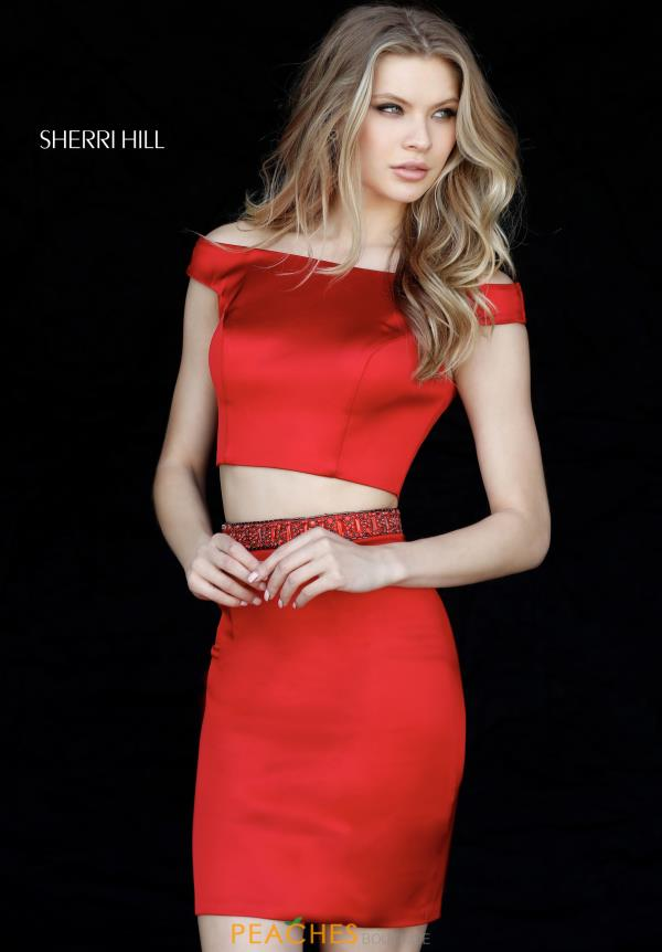 Sherri Hill Short Two Piece Dress 51318