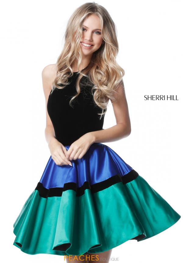 Sherri Hill Short A Line Dress 51519
