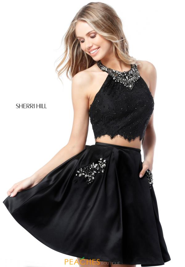 Sherri Hill Short Two Piece Dress 51520