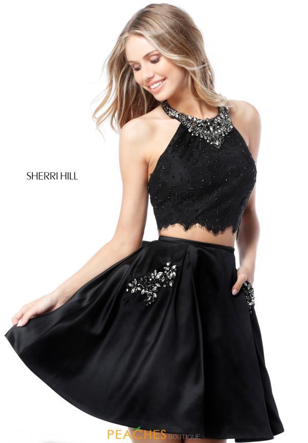 989f3c94c Sherri Hill Short Dress 51520 | PeachesBoutique.com