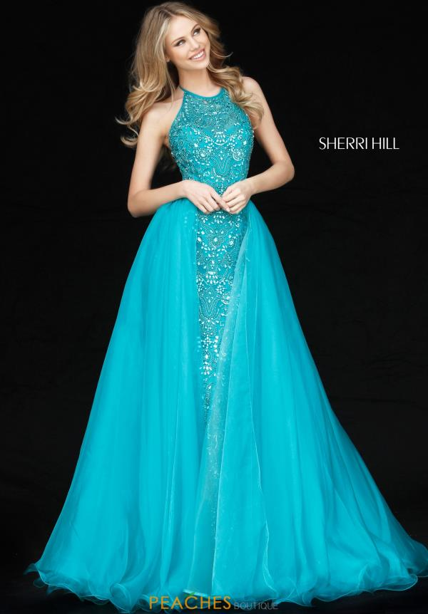 Sherri Hill Fitted Long Dress 51376