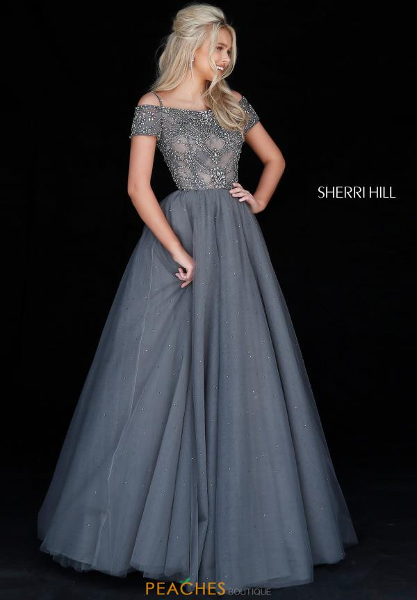 Sherri Hill Off the Shoulder Dress 51450