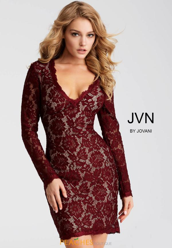 JVN by Jovani Long Sleeved Dress JVN42635