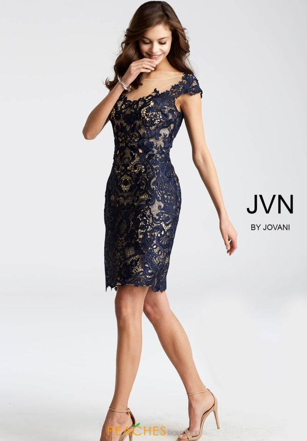 JVN by Jovani Lace Dress JVN28104