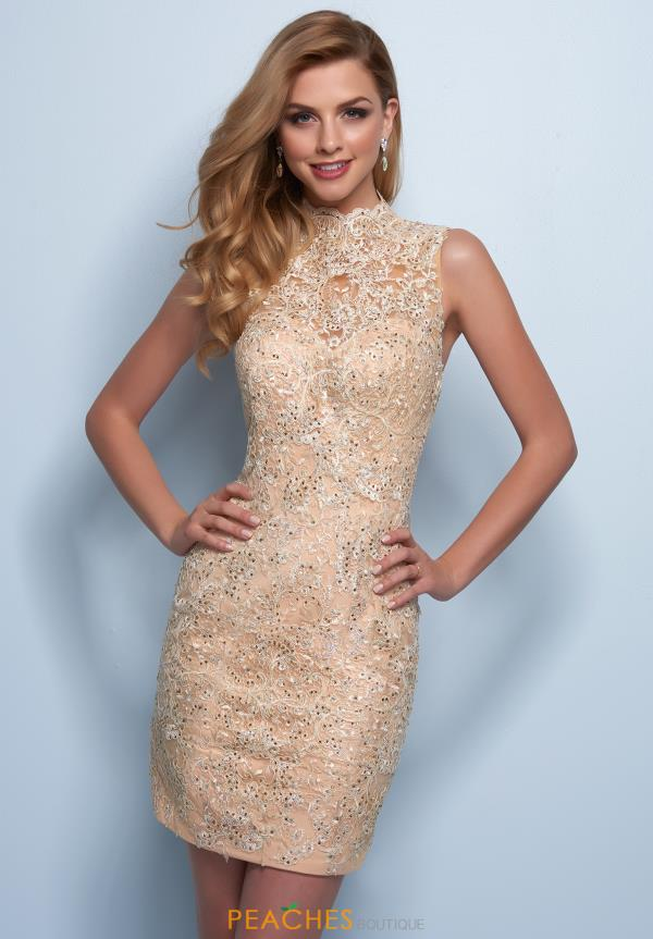 Splash Lace Fitted Dress E738
