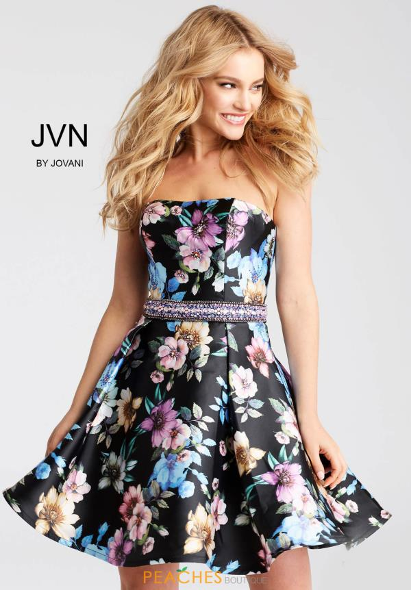 JVN by Jovani Print Dress JVN53109