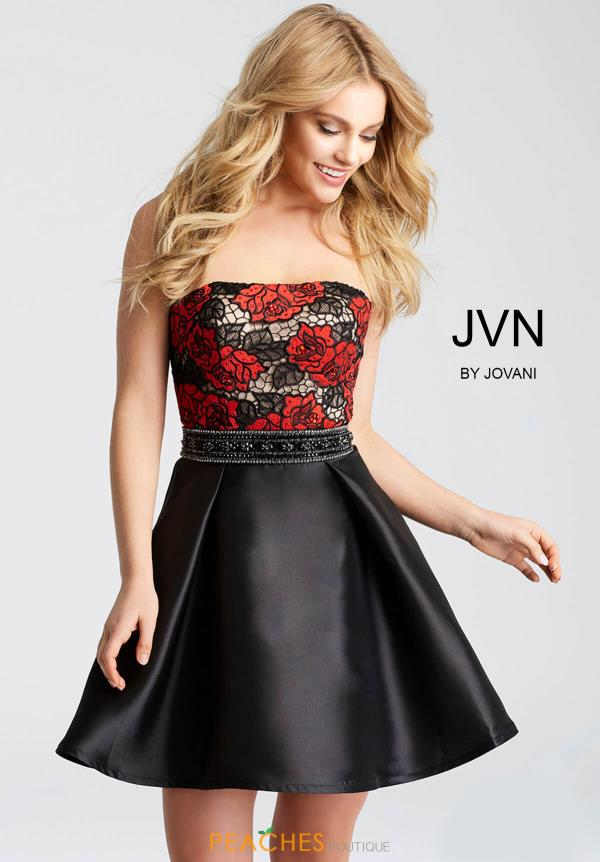 JVN by Jovani Strapless Dress JVN53110