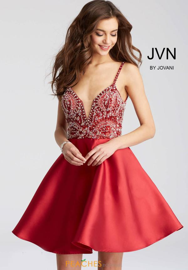 JVN by Jovani Beaded Dress JVN53168