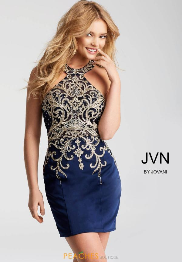 JVN by Jovani Beaded Dress JVN53193
