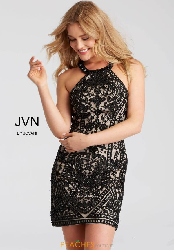 JVN by Jovani Beaded Dress JVN53359