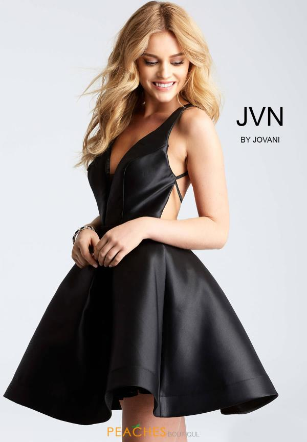 JVN by Jovani Taffeta Dress JVN53360
