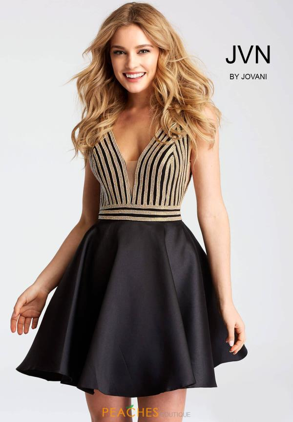 JVN by Jovani A Line Dress JVN54475