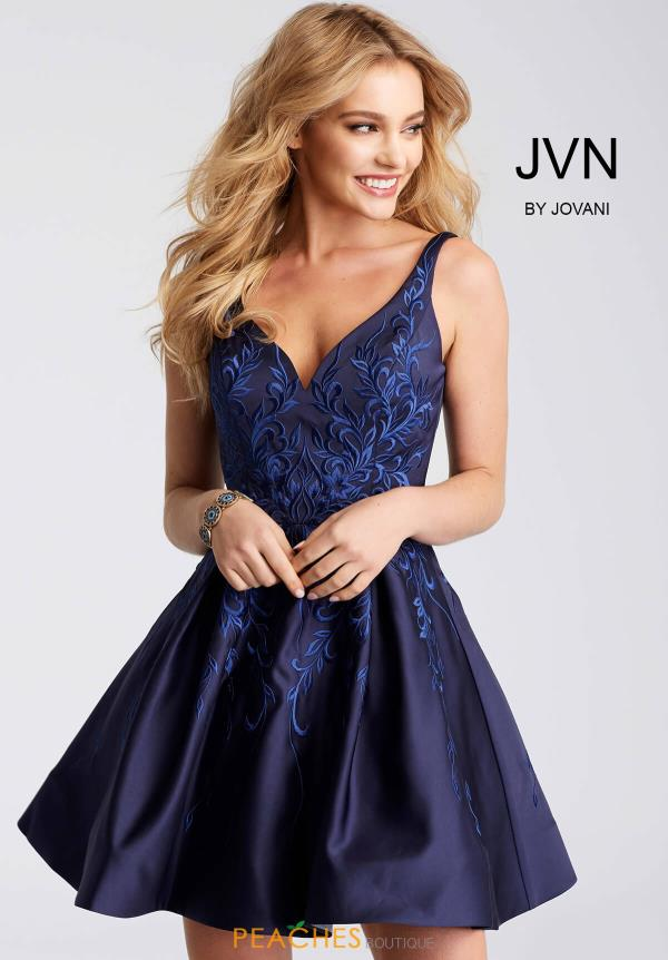 JVN by Jovani Satin Dress JVN54482
