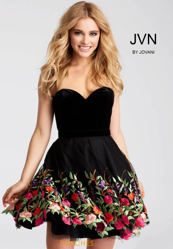 JVN by Jovani Strapless Dress JVN54508