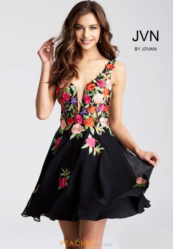 JVN by Jovani Floral Dress JVN54513