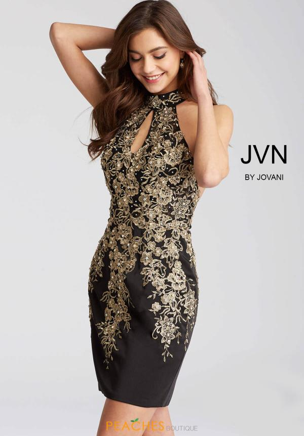JVN by Jovani Beaded Dress JVN54515