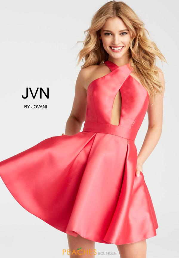 JVN by Jovani Taffeta Dress JVN55412