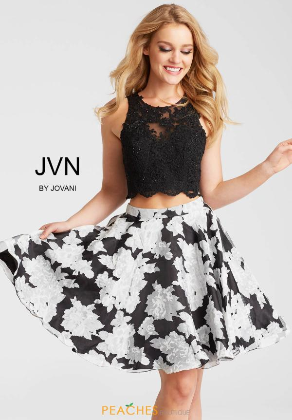 JVN by Jovani Black Dress JVN57597