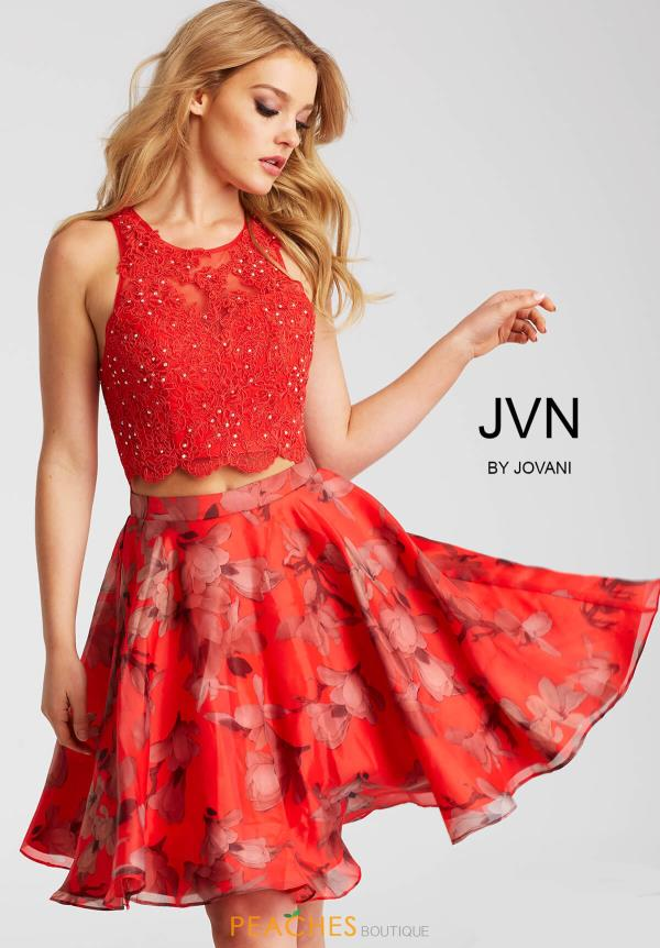 JVN by Jovani Red Dress JVN58250