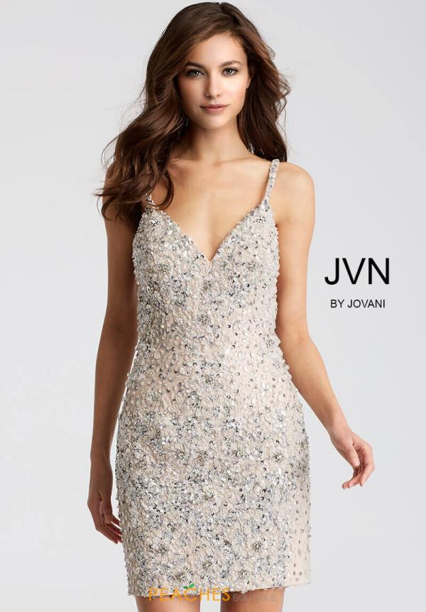 JVN by Jovani Beaded Short Dress JVN51294