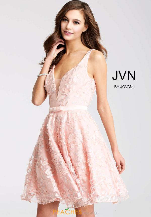JVN by Jovani Lace Dress JVN53052