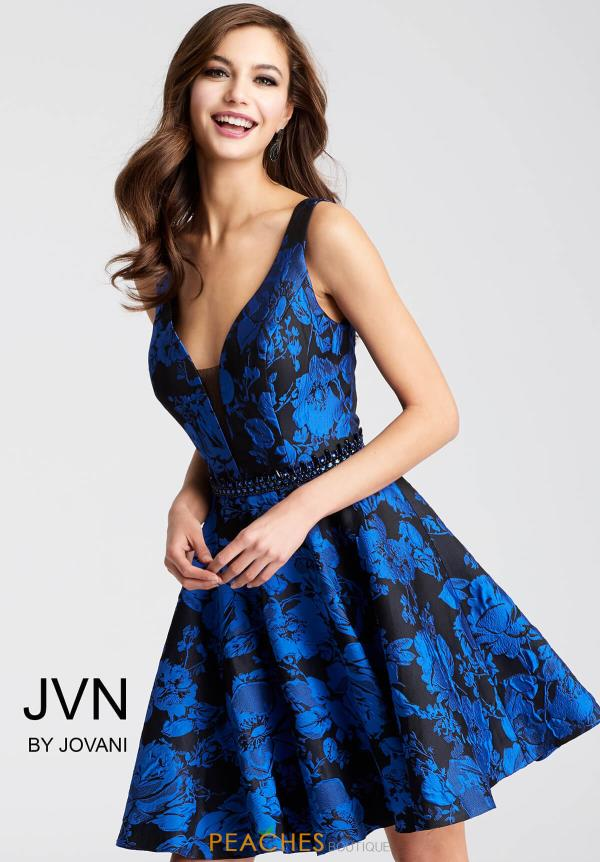 JVN by Jovani Black Dress JVN53112