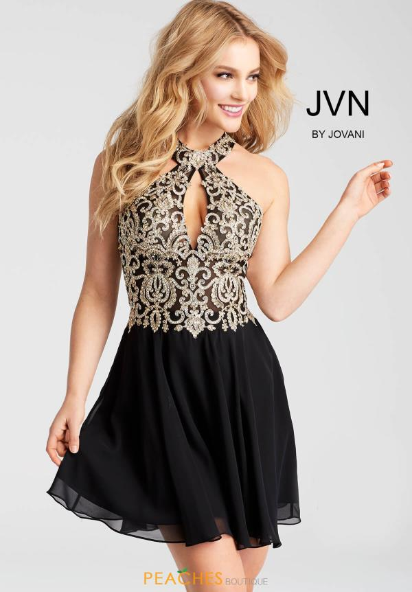 JVN by Jovani Beaded Dress JVN53177