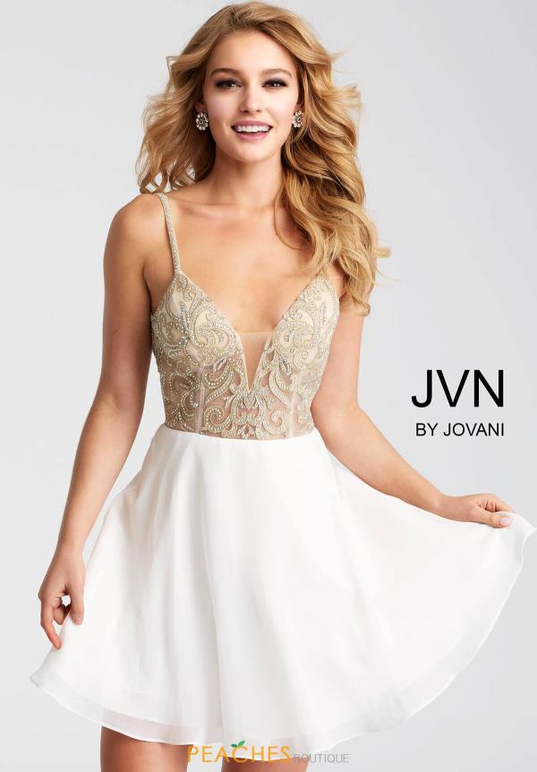 JVN by Jovani Beaded Dress JVN53178